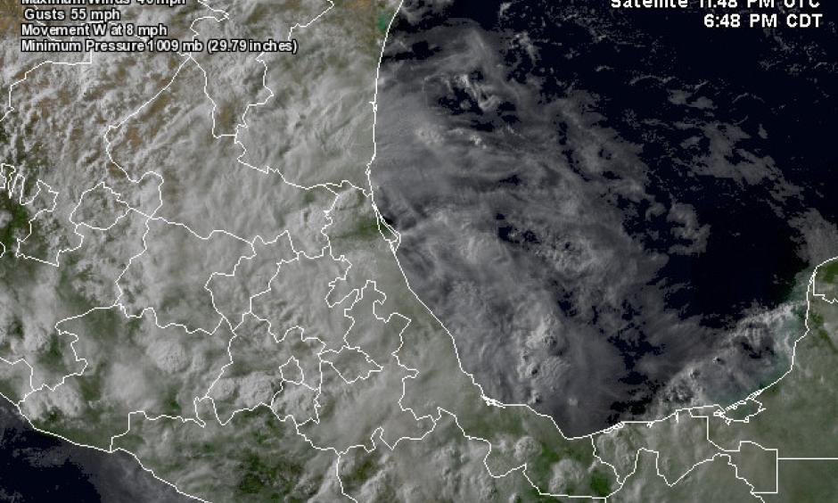 Latest satellite image of Danielle. Image: NASA