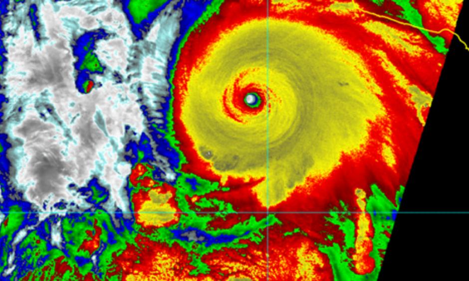Hurricane Patricia. Image: NOAA