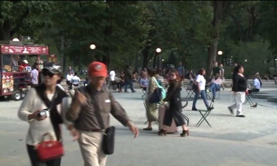 Bryant Park in New York City. Photo:  PIX11