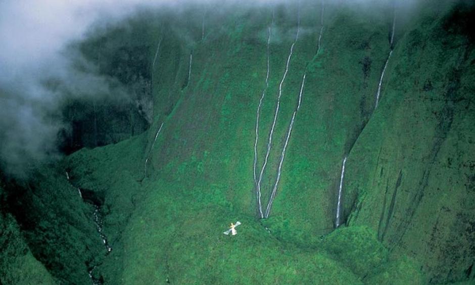 Mt. Waialeale, on Hawaii's Kauai Island. Credit: Courtesy Paul Chesley
