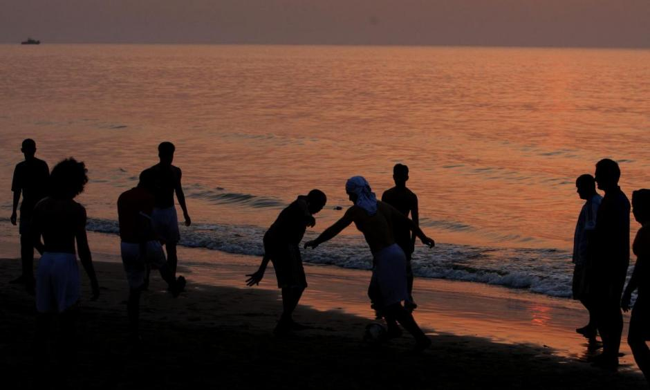Oman and Yemen are on alert this week as Cyclone Chapala approaches. Here, a Muscat beach scene in 2010. Photo: Mohammed Mahjoub, AFP, Getty