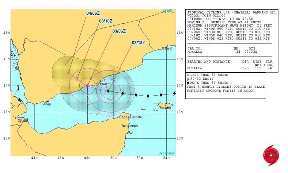 Image: Joint Typhoon Warning Center