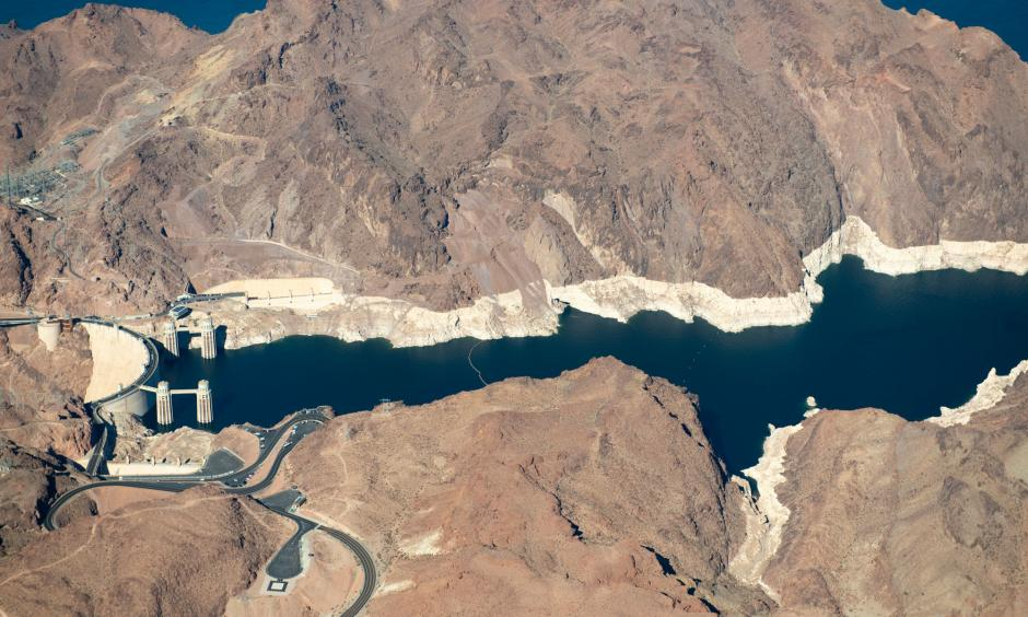 After two decades of drought, Lake Mead in Nevada is just 40 percent full. Photo: Ted Wood