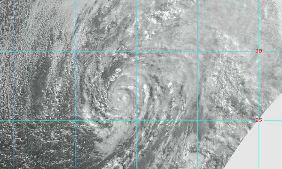 Subtropical Storm Alex in the Atlantic. Image: RAMSDIS-CIRA