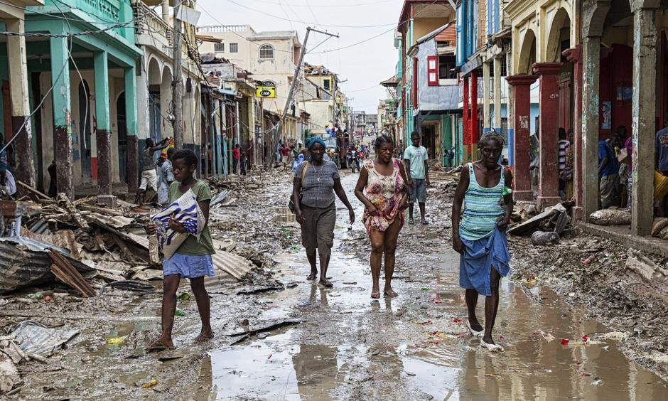 The aftermath of Hurricane Matthew in Jeremie, Haiti. Photo: AFP