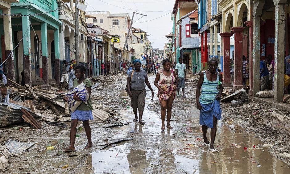 The aftermath of Hurricane Matthew in Jeremie, Haiti. Photo: AFP