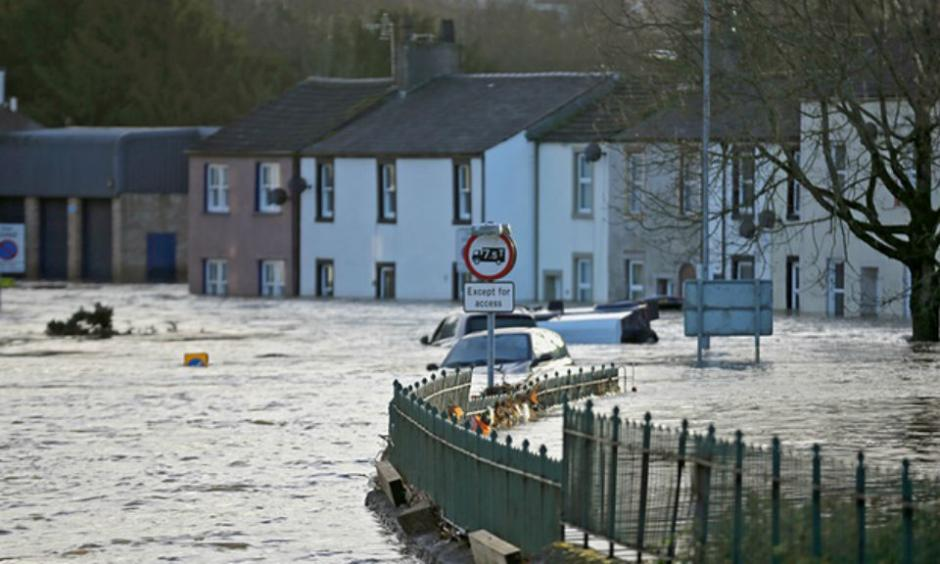 he scientists cautioned that risk is also affected by exposure and vulnerability, such as the quality of flood defences. Photo: Christopher Furlong/Getty Images
