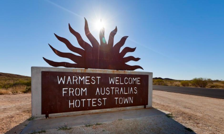 Marble Bar, which often competes for the title of Australia's hottest town, recorded a top temperature on Thursday, December 27th. Photo: Ullstein Bild, Getty Images