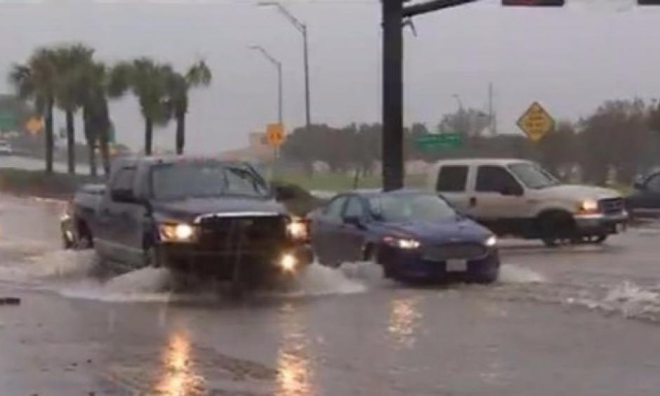 """Texas City Emergency Management Officials say a record 11"""" of rain fell over the course of several hours Saturday afternoon. Photo: KHOU"""