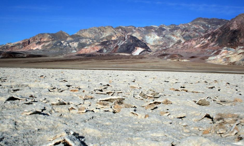Death Valley experiences temperatures among the hottest on Earth almost every summer. July 2017 was its warmest single month (average monthly temperature) since records began in 1911. Photo: Brocken Inaglory, Wikimedia Commons