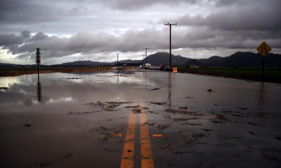 El Niño has sent heavy rains to California this year. Photo: Joel Angel Juárez, AP