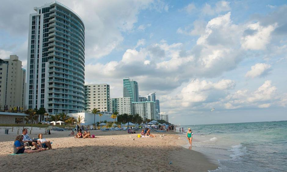 Many areas in Florida are at risk of sea level rise. Photo: Michele Eve Sandberg/Corbis via Getty Images