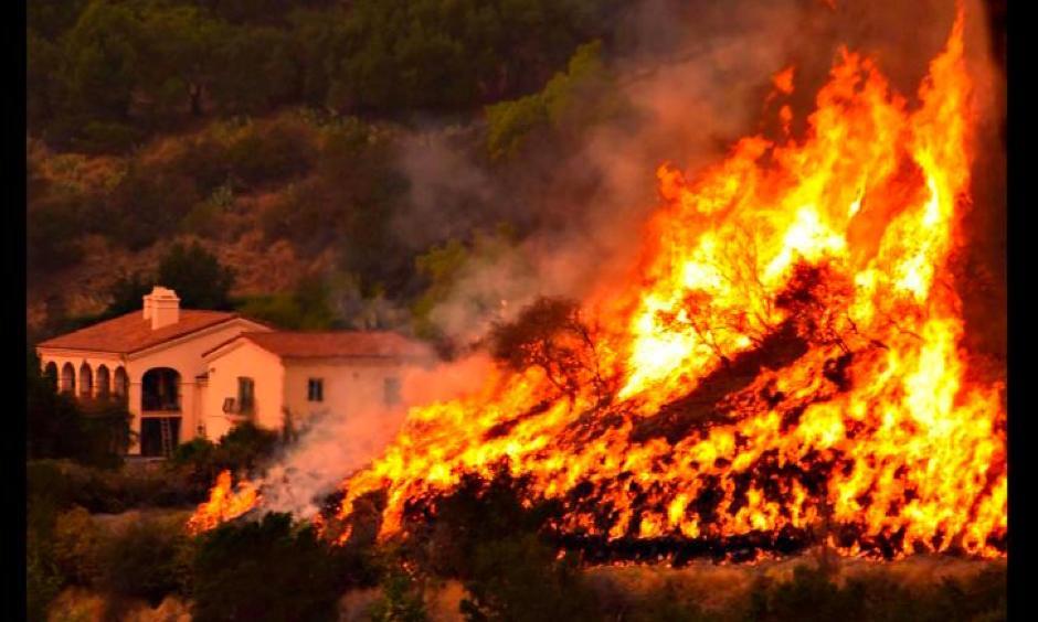 Photo: Mike Eliason, Santa Barbara County Fire Department/AP