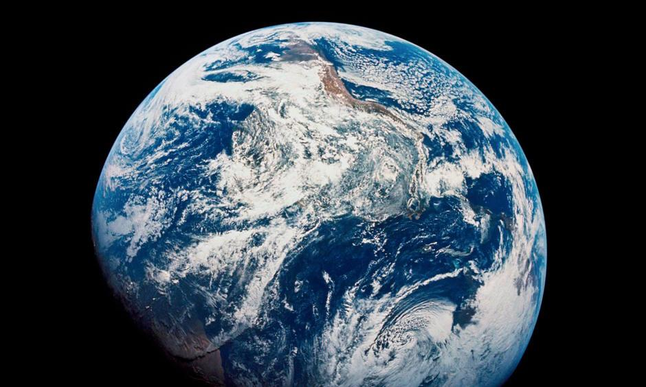 The shot of Earth from Apollo 8. Image: Belfast Telegraph