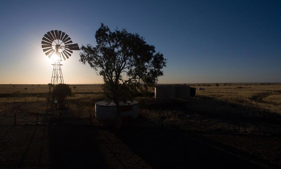 Drought-affected land near Tambo, Queensland. Photo: Mike Bowers for Guardian Australia