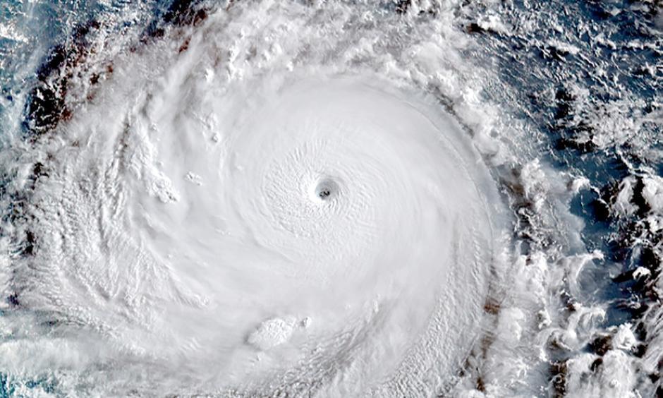 Super Typhoon Soudelor seen from Japan's Himawari-8 Satellite on Monday August 3, 2015. Photo: JMA/RAMMB/CIRA