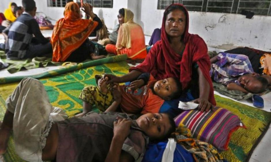 Hundreds of thousands of Bangladeshis have been moved to cyclone shelters. Photo: AFP, Getty Images