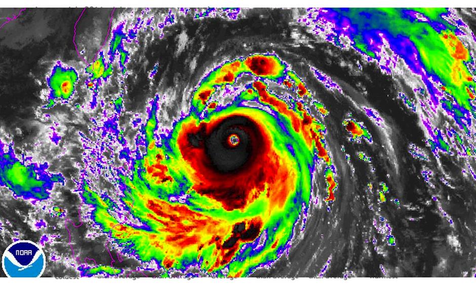 Super Typhoon Meranti. Image: NOAA