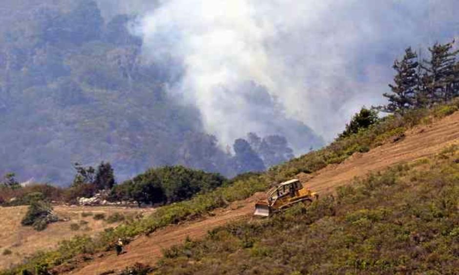 Soberanes Fire grows as crews increase containment. Photo: Monterey Herald