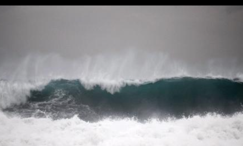 Caribbean waters have been disturbed by Hurricane Matthew, which has left a trail of death and destruction in its wake this past week. Photo: Gladstone Taylor