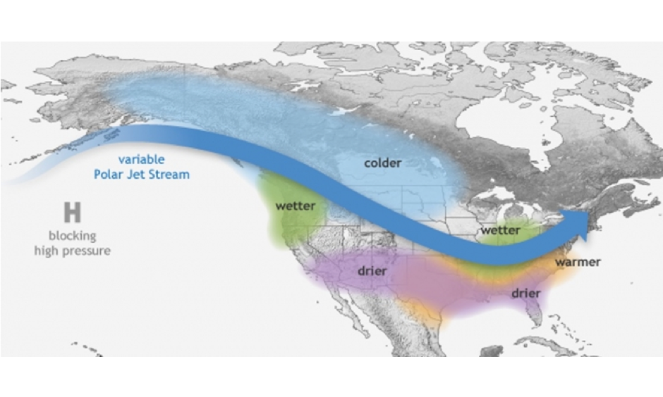 How La Niña influences weather conditions over the U.S. Image: NOAA