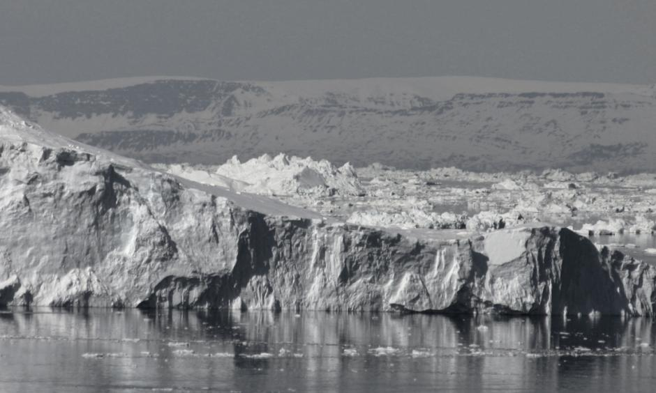 Greenland is losing about 8,300 tonnes of ice per second each day — ice that is melting on land and running into the water, as well as icebergs that are being discharged into Baffin Bay said William Colgan of Toronto's York University. Photo: William Colgan