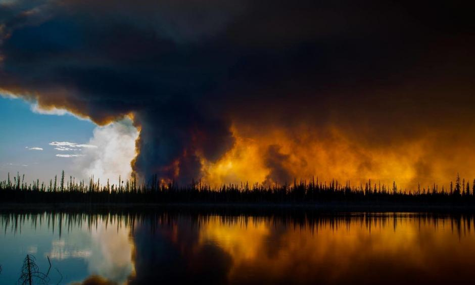 Intense: driven by drier conditions and earlier spring melts, wildfires are getting more potent. Photo: kylewith/flickr