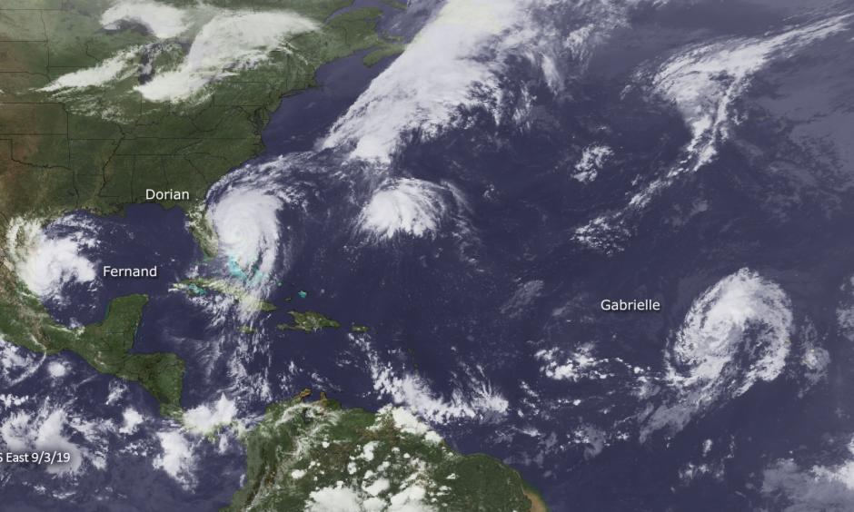 2019 Atlantic Hurricane Activity. Credit: NOAA