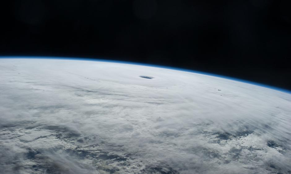 This is an astronaut photo of Supertyphoon Vongfong taken from the International Space Station on Oct. 9, 2014. Image: NASA JSC/ISS
