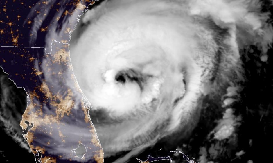 Hurricane Dorian early Wednesday morning. Credit: NOAA
