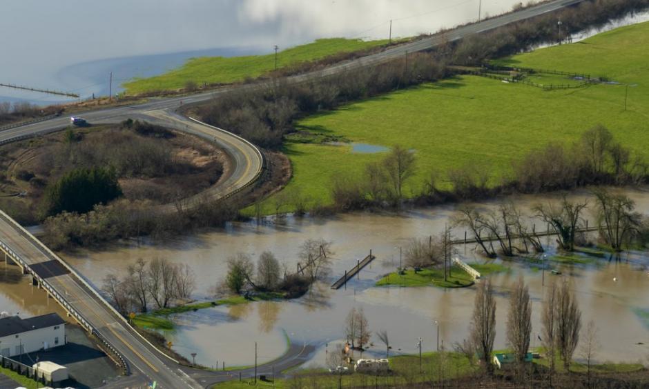 king tide flooding