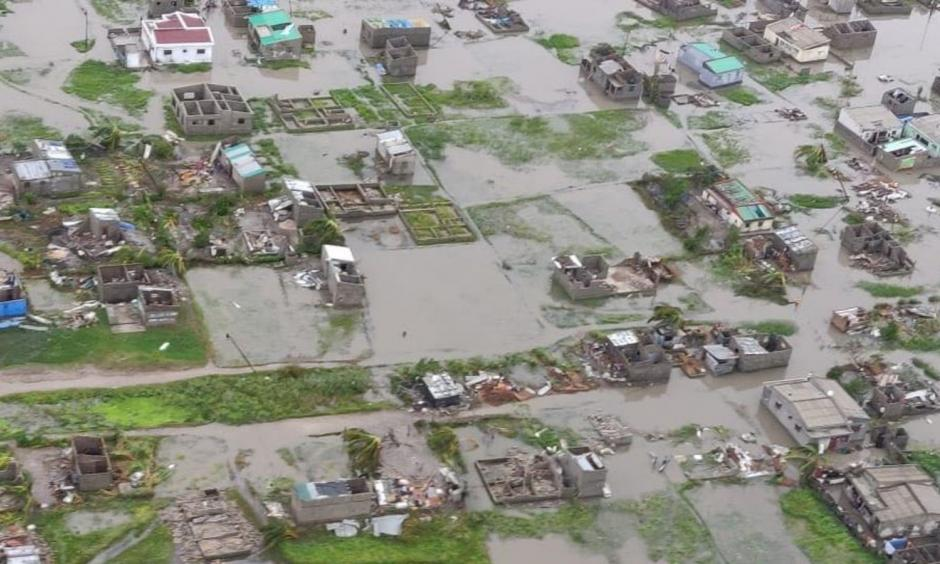 The cyclone destroyed 90 percent of Beira, Mozambique, estimates the International Federation of Red Cross and Red Crescent Societies. Photo: International Federation of Red Cross and Red Crescent Societies
