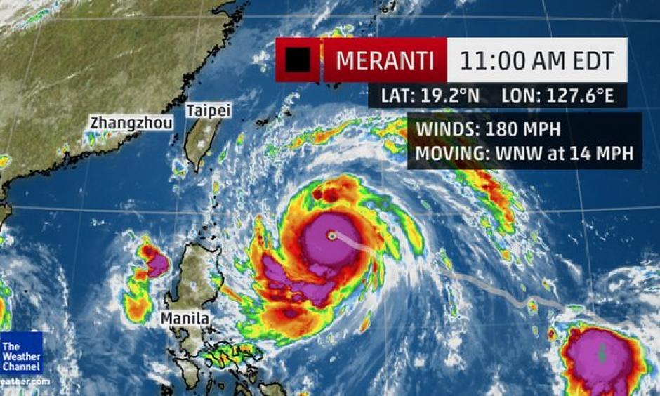 Climate Signals | Super Typhoon Meranti Rapidly Intensifies