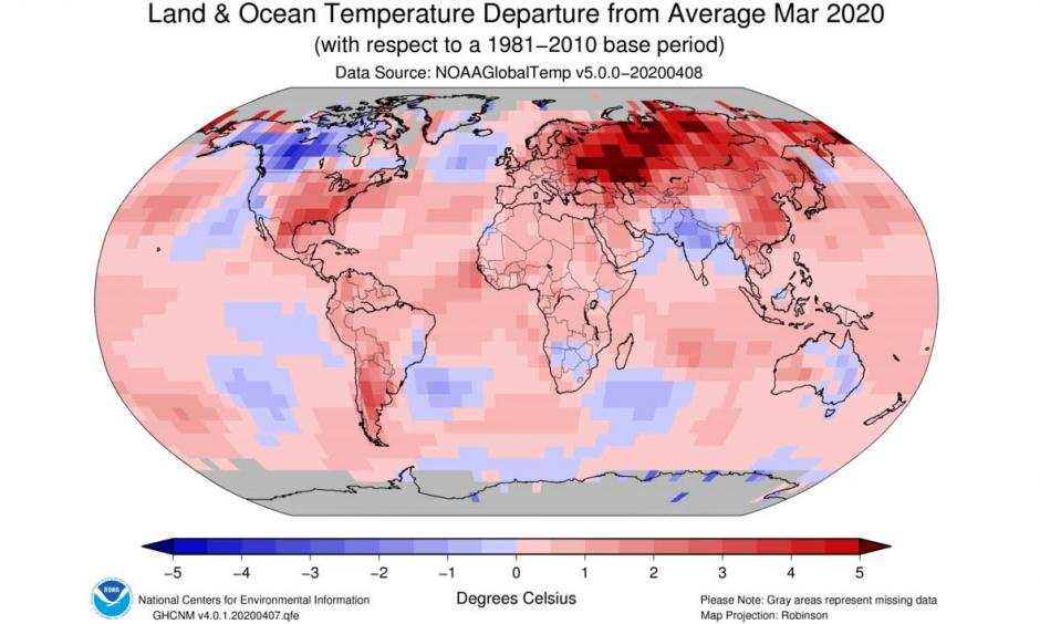 Climate change is increasing temperatures in all seasons.