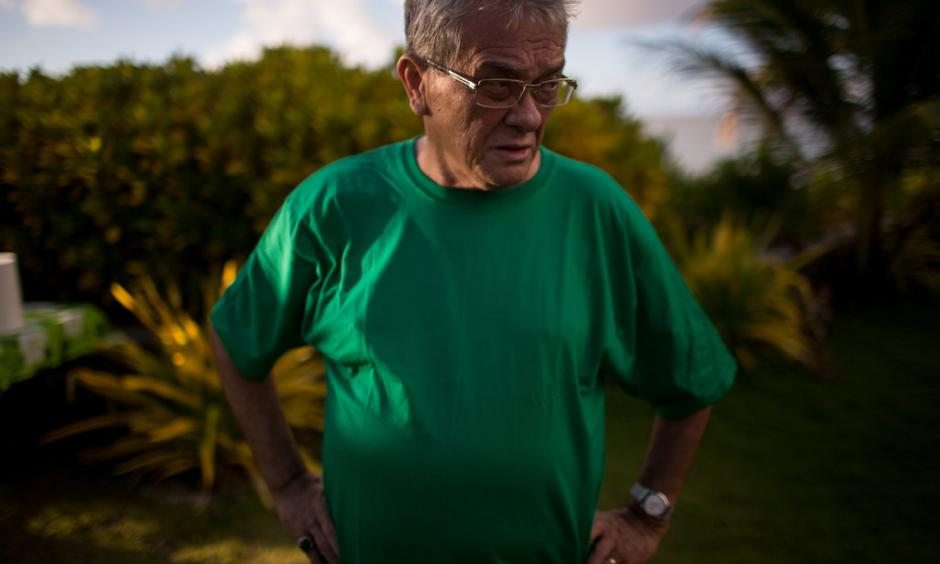 Tony A. deBrum, the foreign minister of the Marshall Islands. Photo: New York Times