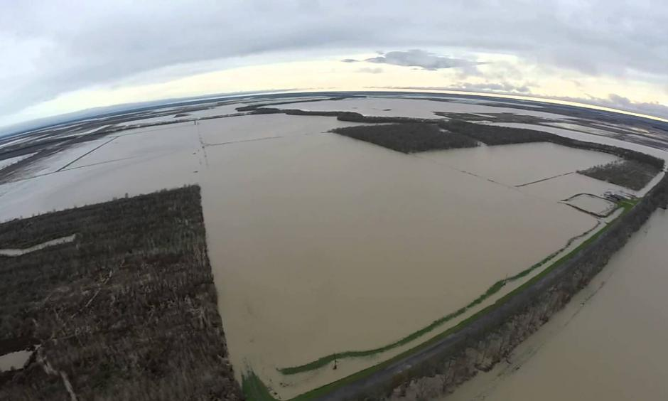 Cropland flooding. Photo: TSeven0, Youtube
