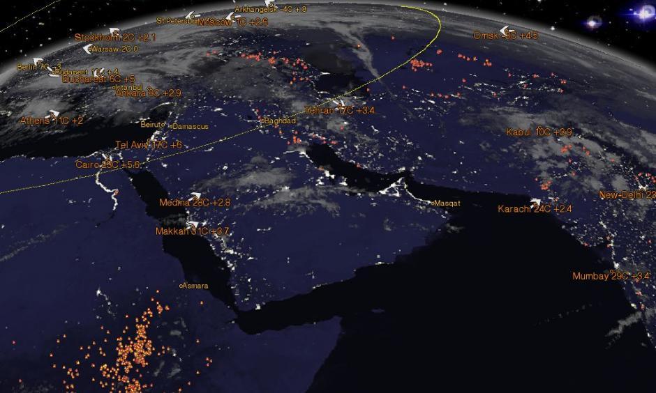 Arabian Peninsula. Photo:Erich Habic