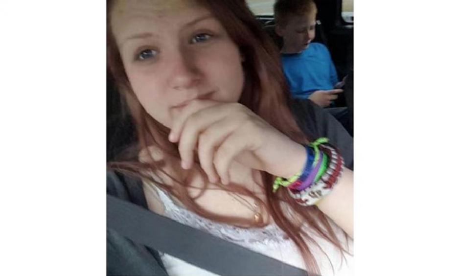 Mykala Phillips, 14, is pictured here. Photo: Courtesy of the Phillips family