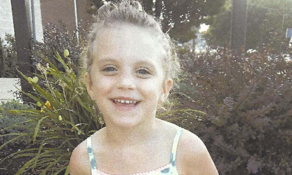 amaria Motyka, 4, is seen in this image. Photo: The Motyka family