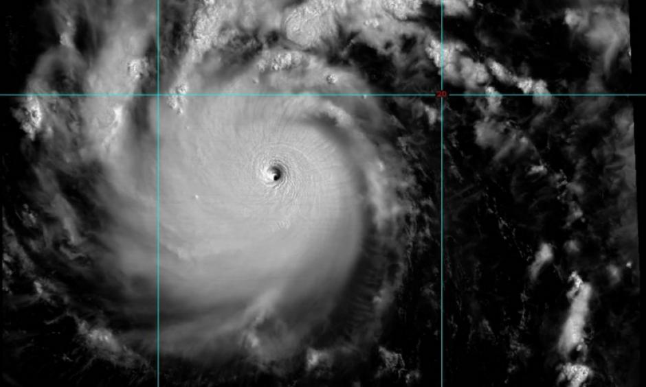Typhoon Nepartak, July 6, 2016 01:29 UTC. Image: Himawari-8 / McIDAS