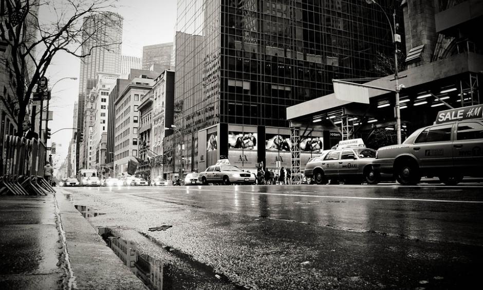 NY rain. Image: Pixabay
