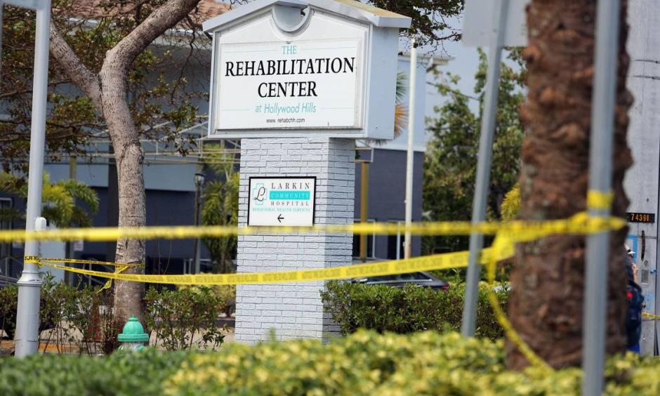 The Rehabilitation Center at Hollywood Hills, scene of eight deaths in the aftermath of Irma, has received below-average ratings from state regulators, and is affiliated with Larkin Community Hospital, which has a troubled regulatory history as well. Photo: Emily Michot, The Miami Herald