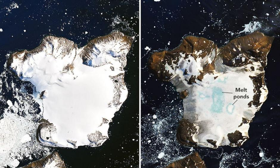 Climate change is increasing ice melt in Antarctica