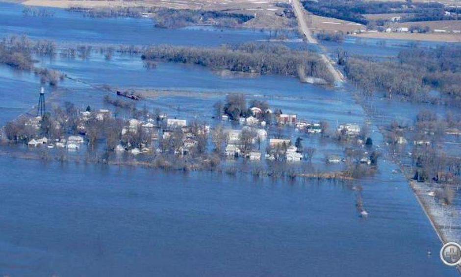 Climate change is increasing the risk of flooding