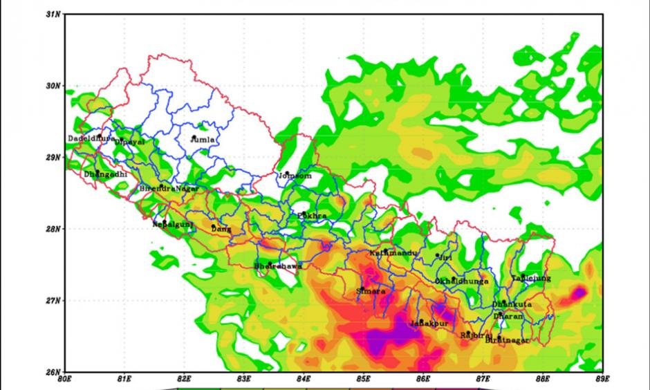 As heavy rains across Nepal precipitate a national crisis, we spoke with Rajendra Sharma, a senior divisional hydrologist at Flood Forecasting Section, Department of Hydrology and Meteorology.
