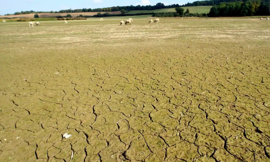 Climate change is increasing drought risk