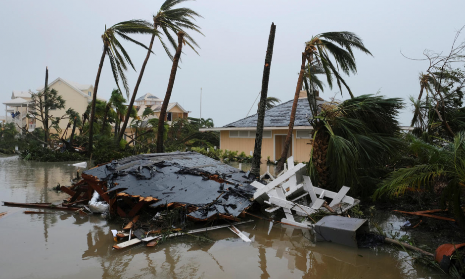 Climate change is increasing the frequency of intense hurricanes