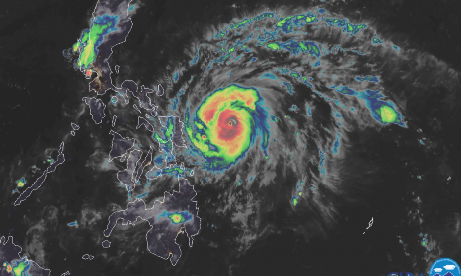 Climate change is increasing the intensity of typhoons