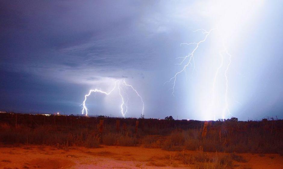 Arizona Thunderstorm: Photo: Ranjit Bosu, iWitness Weather