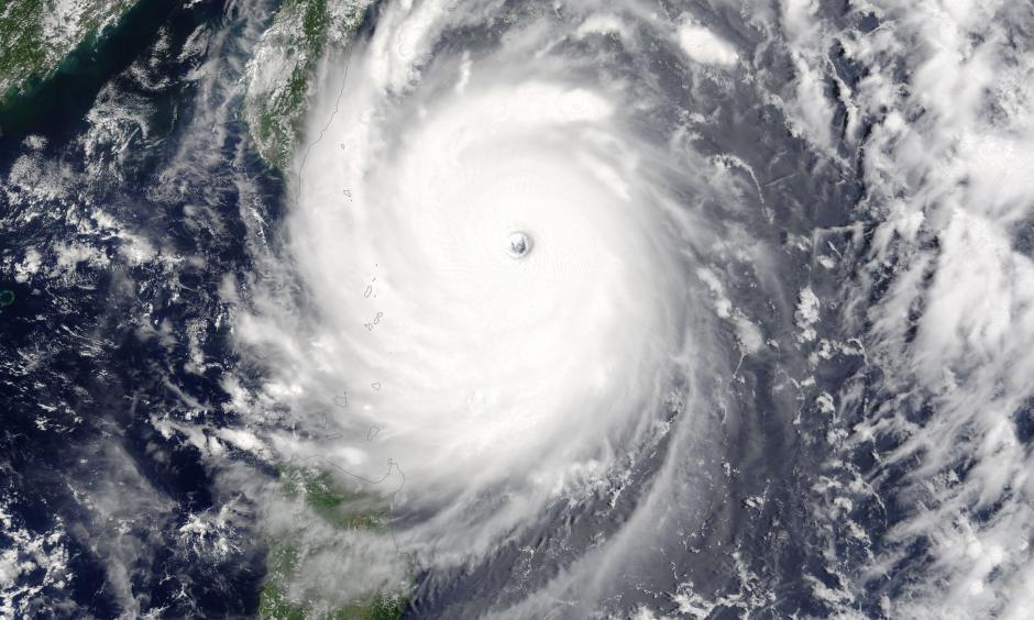 NASA's Terra satellite captured this image of Super Typhoon Nepartak approaching Taiwan on July. Image: NASA